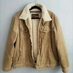 OLD NAVY VINTAGE corduroy trucker jacket